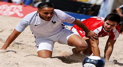 عماد الطالبي ابن بويفار يتألق ضمن المنتخب الفرنسي لكرة القدم الشاطئية