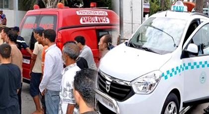 """خطير: هجوم بـ """"الكريموجين"""" على طاكسي يرسل شخصين لمستعجلات الدريوش وهذه باقي التفاصيل"""