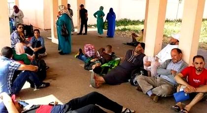 عائلات معتقلي حراك الريف تصل سجن عكاشة صباح اليوم.. وأسرة الزفزافي غائبة لهذا السبب