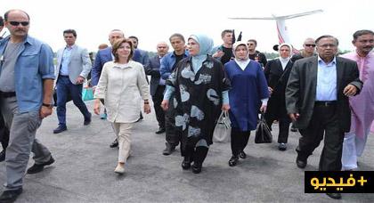 """زوجة الرئيس التركي """"طيب أردوغان"""" تزور مخيمات مسلمي الروهينجا"""