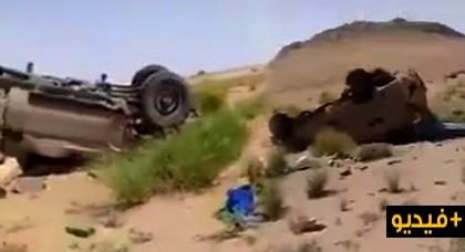 وفاة جندي بالقوات المسلحة الملكية وإصابة ضابط برتبة كبيرة بعد انقلاب عربتهم العسكرية