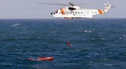 البحرية الاسبانية تبحث عن قارب مفقود على متنه مجموعة من المهاجرين السريين