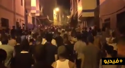بالفيديو.. مسيرة حاشدة تجوب شوارع مدينة إمزورن للمطالبة بإطلاق سراح المعتقلين
