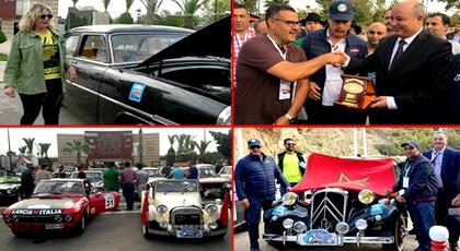بمشاركة من الدريوش.. عامل إقليم تازة يعطي إنطلاقة الرالي المتوسطي للسيارات العتيقة