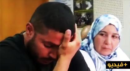 لحظة أجهش شقيق المعتقل السياسي عبد الخير اليسناري