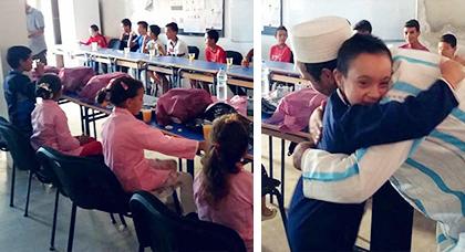جمعية اتشوكت الكبرى تشرف على عملية توزيع اللوازم المدرسي