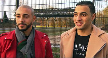 اللاعب الريفي نور الدين لمرابط يكشف موقف شقيقه من أجواء لقاء الغابون