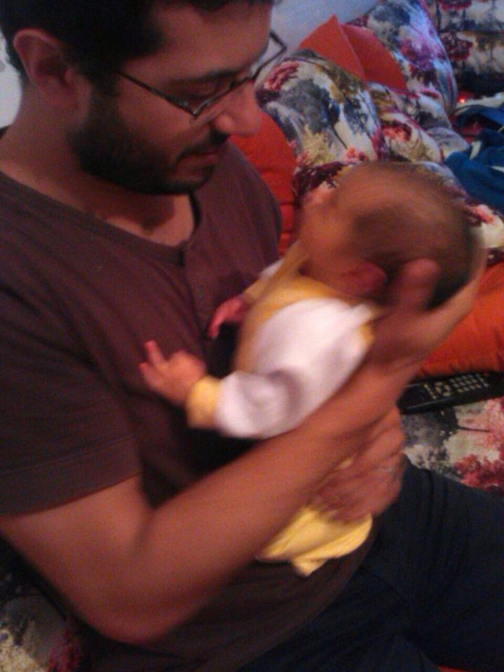 تهنئة بمناسبة إزديان فراش عائلة منعم اشعياب بمولود جديد