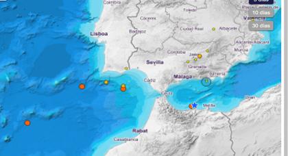 المرصد الجغرافي الإسباني يعلن عن تسجيل هزة أرضية قبالة سواحل الحسيمة وهذه تفاصيلها