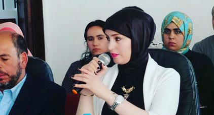 """ياسمينة الفارسي تشهر """"الاستقالة"""" في وجه رئيس كونفدرالية المقاولات بسبب حراك الريف"""