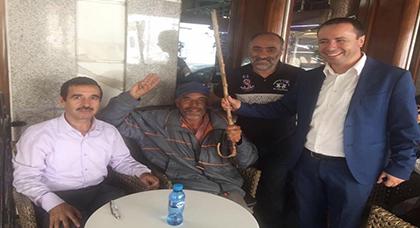 """المحامي البوشتاوي يكشف معلومات غير معروفة عن """"عزي أحمد"""" سفير حراك الريف المعتقل بتطوان"""