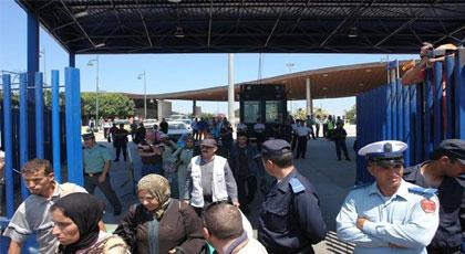 هذا ماذا يفعله المغاربة عندما يدخلون الى  مدينة مليلية المحتلة