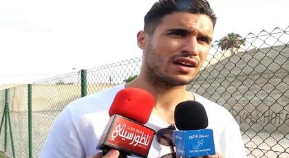 """حارس مرمى """"الأسود"""" منير المحمدي إبن الناظور يتوجه برسالة شكر إلى الشعب المغربي"""