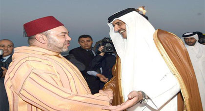 قطر تدخل على الخط في قضية فبركة صورة للملك محمد السادس