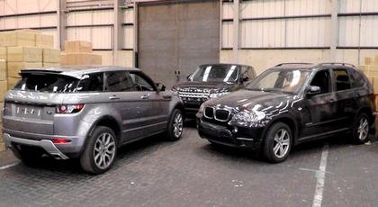 اسبانيا تحجز حوالي 40 سيارة مسروقة فارهة كانت في طريقها للمغرب