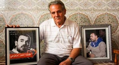 """والد الزفزافي تعليقا على """"إتهام شارية للعماري بالتآمر ضد البلاد"""": التقيت ناصر ومعطانيش رأس الخيط"""