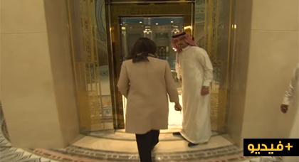 بالفيديو.. السعودية تسمح لصحافية بالتصوير داخل الفندق الذي حجزت فيه الأمراء