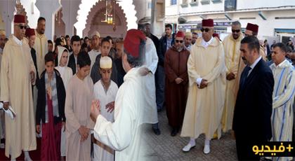 عامل إقليم الدريوش يتقدم جموع المصلين بالمسجد الأعظم لأداء صلاة الاستسقاء طلبا للغيث