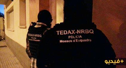 شرطة برشلونة تعتقل مغربيين بتهمة تمجيد والإشادة بالأعمال الإرهابية