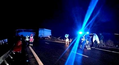 إصابة 43 شخصا في حادثة سير مروعة بفرنسا بين حافلتين قادمتين من المغرب وشاحنة
