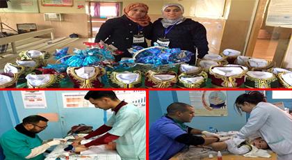 """جمعية """"أفضل عائلة"""" بوجدة تنظم حملة ختان مجانية بمناسبة ذكرى المولد النبوي"""