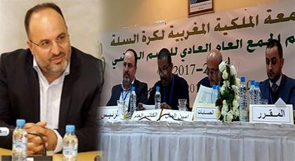 انتخاب ابن الحسيمة مصطفى أوراش رئيسا للجامعة الملكية لكرة السلة للمرة الثانية