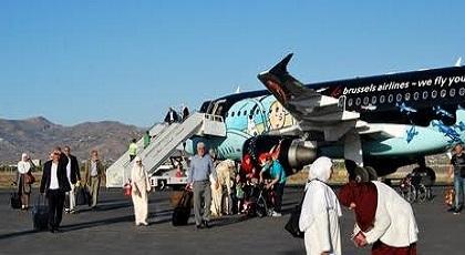 مطار الحسيمة يحقق ارتفاعا في عدد المسافرين منذ بداية السنة