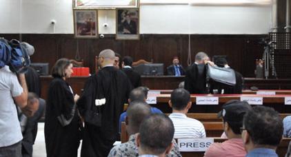هيئة دفاع الزفزافي ورفاقه تنسحب من جلسة المحاكمة احتجاجا على غياب شروط المحاكمة العادلة