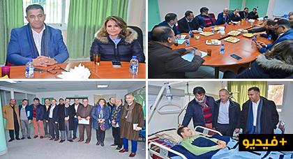 وفد مؤسسة مريم بهولندا في ضيافة الإدارة الصحية الإقليمية بالناظور لتعزيز آفاق العمل المشترك