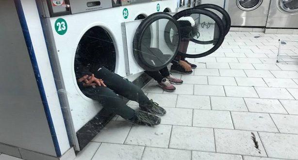 صادم.. موجة البرد تدفع قاصرين مغاربة الى النوم في آلات الغسيل وسط العاصمة باريس