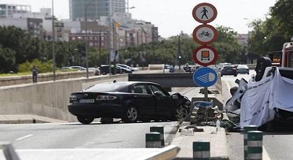 سائق مغربي مخمور يتسبب في دهس راجلين ويخلق الذعر وسط المواطنين بإسبانيا