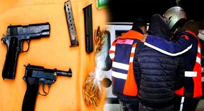 إعتقال مهاجر ينحدر من الدريوش بالخميسات وبحوزته سلاحين ناريين