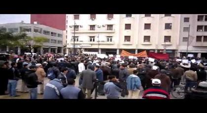 رقعة الاحتجاج تتوسع في الشرق وتصل إلى وجدة + فيديو