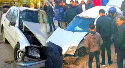 الدريوش.. حادثة سير مروعة بمدخل بن الطيب تسفر عن جريحين وخسائر مادية