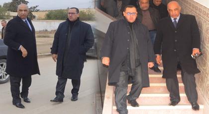 عامل إقليم الدريوش يلتقي رئيس بلدية ميضار ويتفقد عددا من المرافق لتعزيز النهوض بتنمية المدينة