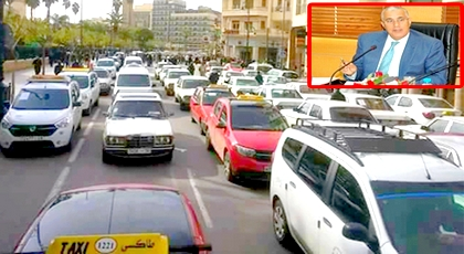 مباشرة بعد اجتماعهم بوالي الجهة.. أرباب سيارات الأجرة بالشرق يصعدون ويقررون تنظيم مسيرة إلى الرباط