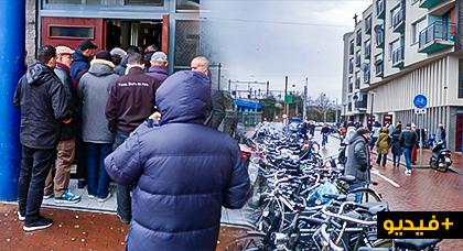 دموع وحسرة في جنازة المغربي المقتول رميا بالرصاص وسط انتقادات حول الأمن والأمان بأمستردام