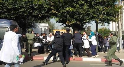 اعتقال سبعة مترشحين لمباراة التعليم بالتعاقد لهذا السبب