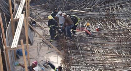 """فاجعة.. مصرع عامل بناء بعد سقوط رافعة على رأسه بـ""""حي العمران"""" بسلوان"""