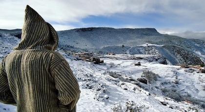 الملك يعطي أوامره للتدخل في جبال الريف وباقي المناطق التي تعرف تساقطات ثلجية