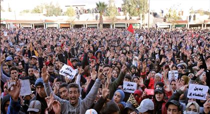 حراك جرادة: الاحتجاجات مستمرة والعثماني لم يستجب لأهم المطالب