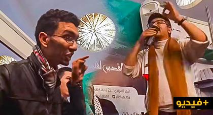 مثير: مواجهة ساخنة بين نشطاء وويحمان بعد إتهامه الأمازيغية بالتطبيع مع الصهيونية في معرض الكتاب