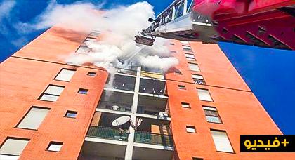 مصرع طفل مغربي متأثرا بحروح اصيب بها جراء احتراق منزل في ميلانو