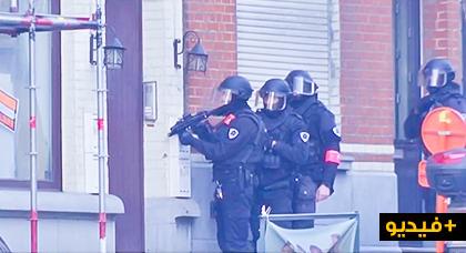 الشرطة تحاصر حي فوريست ببلجيكا .. وعمدة بروكسيل يطمئن الساكنة بعدم وجود عمل إرهابي