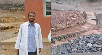 فاجعة.. وفاة أستاذ غرقا بواد بعدما جرفته السيول