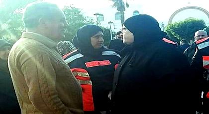 حضرها والد الزفزافي وعائلات معتقلي الحراك.. الأمن يمنع وقفة لنساء الحسيمة لتخليد 8 مارس