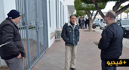 معطلون مكفوفون في اعتصام أمام عمالة الناظور: السلطات تجاهلتنا منذ سنوات من الاحتجاج