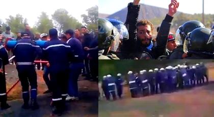 مواجهات دامية بين الأمن والمحتجين بجرادة تسجل عشرات المصابين