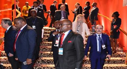 إلياس العماري يمثل جهة الحسيمة- طنجة في منتدى افريقيا للرؤساء التنفيذيين بأبيدجان