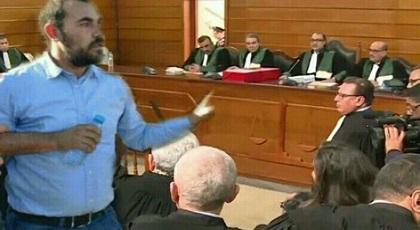 """معتقل حراك الريف أثناء محاكمته: الفرقة الوطنية طلبت مني """"نغرق الشقف"""" للزفزافي"""